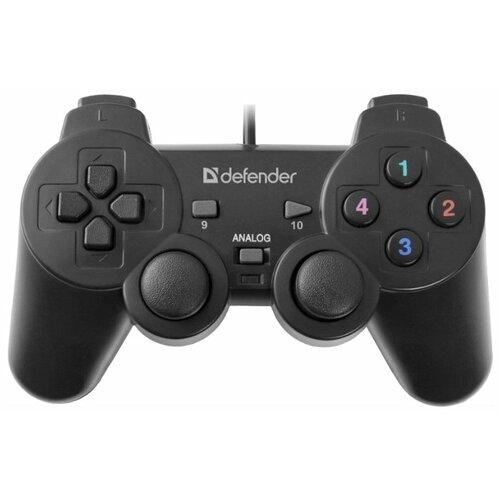 Геймпад Defender Omega черный геймпад defender zoom серый