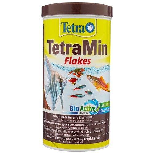 Сухой корм для рыб Tetra TetraMin flakes 1000 мл 200 г сухой корм для рыб tetra tetramin flakes 500 мл 100 г
