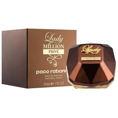 Парфюмерная вода Paco Rabanne Lady Million Prive, 30 мл paco rabanne 1 million prive парфюмерная вода 5мл