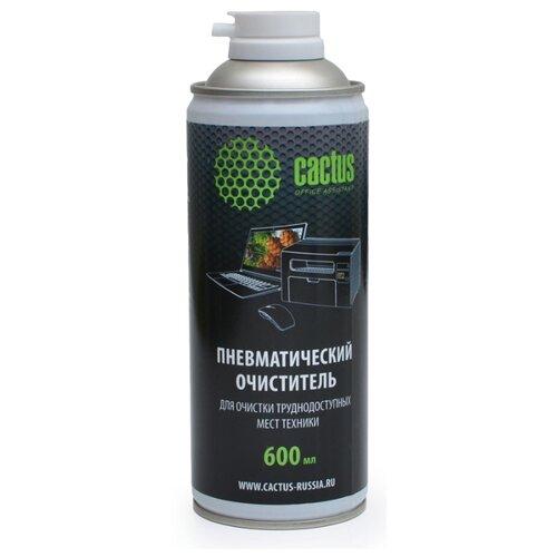 Фото - Пневматический очиститель Cactus CS-AIR600 для очистки техники 600мл fellowes air duster 350 мл пневматический очиститель