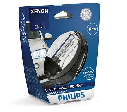 Лампа автомобильная ксеноновая Philips WhiteVision gen 2 85415WHV2S1 D1S 85V-35W (PK32d-2) 1 шт. — купить по выгодной цене на Яндекс.Маркете