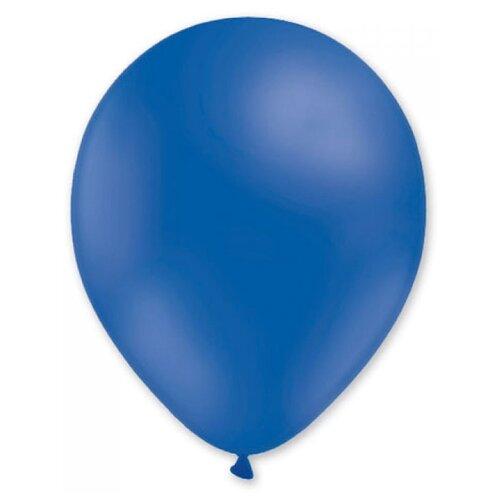 Набор воздушных шаров MILAND Пастель 13 см (100 шт.) синий