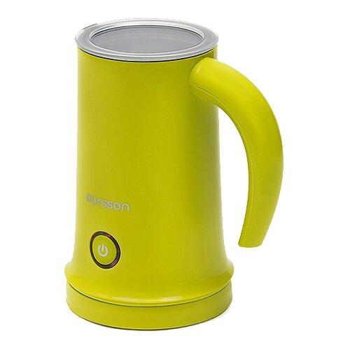 Вспениватель для молока Oursson MF2005 green вспениватель для молока oursson mf2005 orange