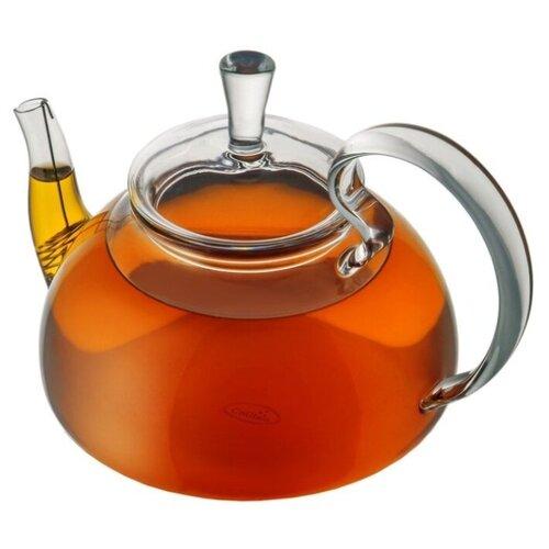 набор кофейный cnglass чайная пара канопус 110 мл 4 шт комплект tz07002 стекло CnGlass Заварочный чайник H5 800 мл прозрачный