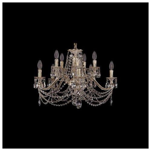 Люстра Bohemia Ivele Crystal 1703 1703/10/225/C/GW, E14, 400 Вт бра bohemia ivele crystal 1610 1610 3 gw