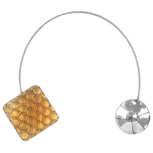 Магнитные клипсы Ajur NZ KV желтый магнитные клипсы ajur b49 золотистый