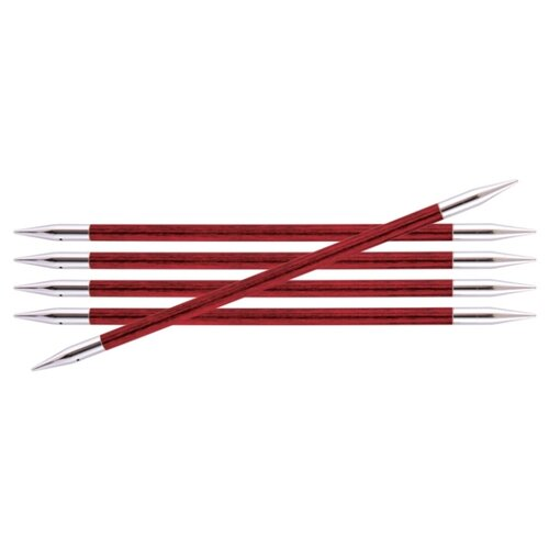 Купить Спицы Knit Pro Royale 29039, диаметр 5 мм, длина 20 см, цветущая вишня