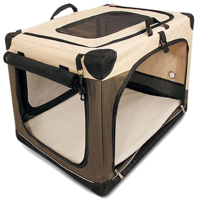 Переноска-домик для собак Triol Дом-тент 1041AL 91х61х58 см