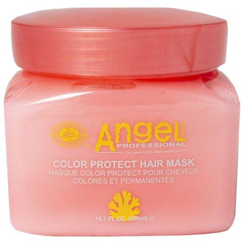 Angel Professional Маска защита цвета окрашенных волос, 500 мл