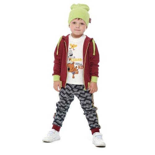 Купить Брюки lucky child Ми-ми-мишки 70-11ПФ/цв размер 26 (80-86), черный, Брюки и шорты
