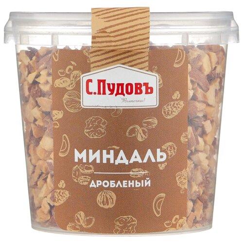 цена на Миндаль С.Пудовъ дробленый обжаренный, пластиковая банка 180 г