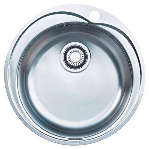 Врезная кухонная мойка 51 см FRANKE ROX 610-41 101.0017.919 нержавеющая сталь/полированная мойка franke agx 260 нержавеющая сталь