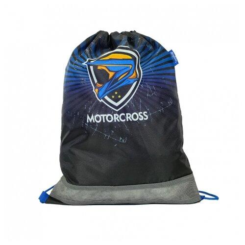 Mag Taller Мешок для обуви Motorcross (31616-32) черный/синий mag taller рюкзак zoom flowers разноцветный