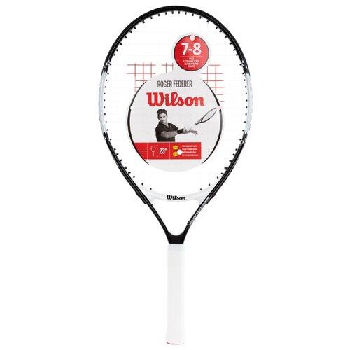 Ракетка для большого теннисаWilson Roger Federer 23 23'' 0000 белый/черный