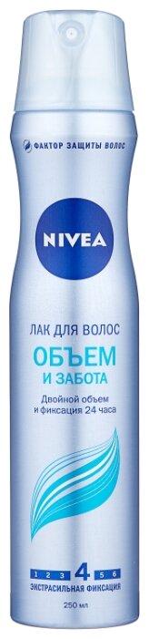 Nivea Лак для волос Объем и забота, экстрасильная фиксация