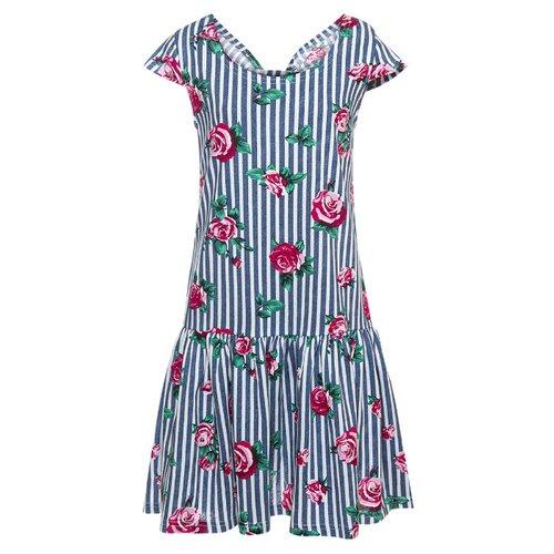 Купить Платье M&D размер 146, деним, Платья и сарафаны