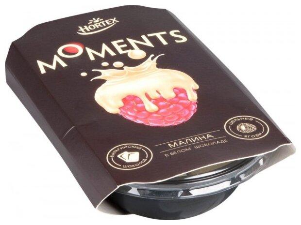 HORTEX Малина в белом шоколаде Moments быстрозамороженная 100 г