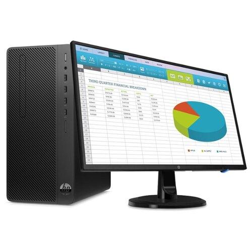 Купить Настольный компьютер HP 290 G3 MT (9UF75ES) Mini-Tower/Intel Core i5-9500/4 ГБ/500 ГБ HDD/Intel UHD Graphics 630/Windows 10 Pro/монитор 23.8 дюйм. черный