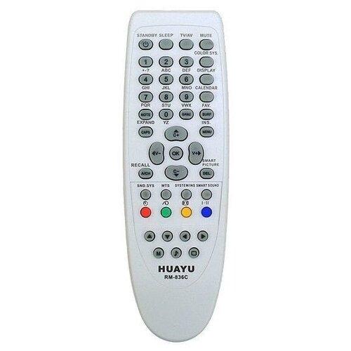 Фото - Пульт ДУ Huayu RM-836C для для телевизоров Philips RC1205B/30063555/RC0770/ RC19036002/RC19036001/RC19042001 серый пульт ду huayu rm 836c для для телевизоров philips rc1205b 30063555 rc0770 rc19036002 rc19036001 rc19042001 серый