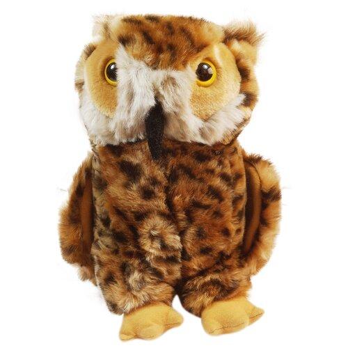 Мягкая игрушка Keel toys сова 25 см, коричневая недорого