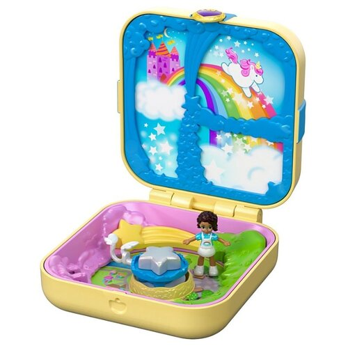Игровой набор Mattel Polly Pocket Unicorn Utopia GDK78 mattel polly pocket fry98 комната полли