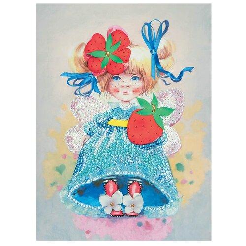 Купить Волшебная Мастерская Мозаика из пайеток Клубничное настроение МХ-32, Картины из пайеток