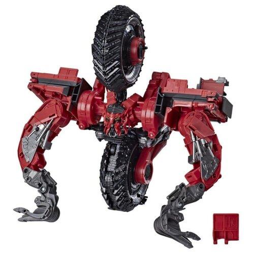Купить Трансформер Hasbro Transformers Скавенджер. 55. Коллекционное издание: лидер (Трансформеры Дженерейшнс Studio Series) E7216 красный/черный, Роботы и трансформеры