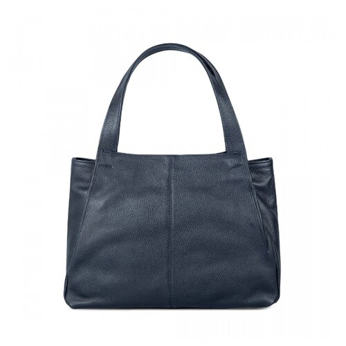 Сумка Afina, натуральная кожа, синий сумка afina afina af004bwssy21