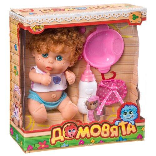 Купить Пупс Yako Домовята с рыжими волосами, 22 см, M7579-1, Куклы и пупсы