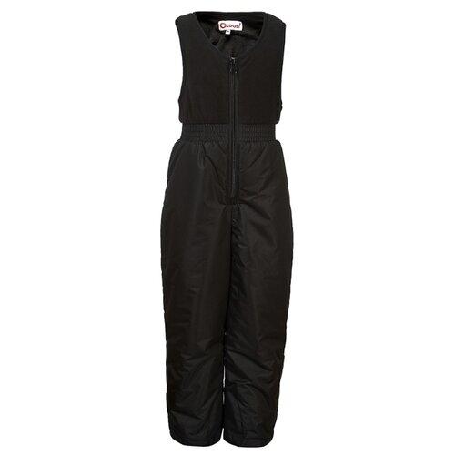 Купить Полукомбинезон Oldos Лонни OAW193T1PT68 размер 92, черный, Полукомбинезоны и брюки