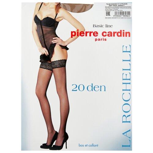 Чулки Pierre Cardin La Rochelle, Basic Line 20 den, размер III-M, visone (бежевый) чулки pierre cardin la rochelle basic line 20 den размер iv l nero