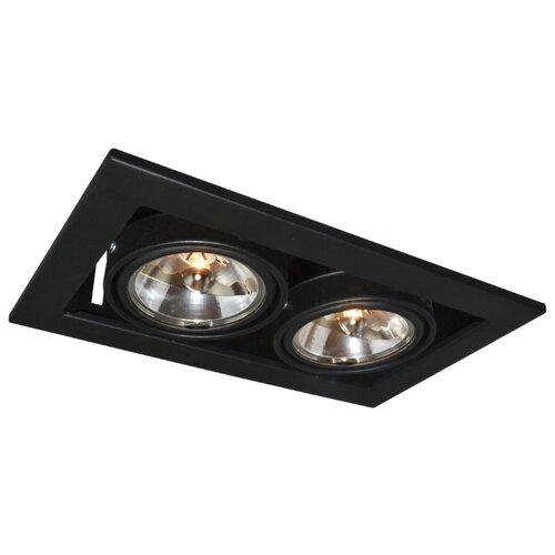 Встраиваемый светильник Arte Lamp Technika A5930PL-2BK встраиваемый светильник artelamp a5930pl 3bk
