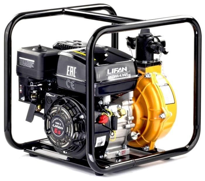 Противопожарная мотопомпа LIFAN 40ZB60-4,8QT