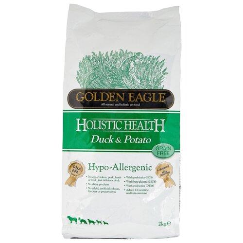 Корм для собак Golden Eagle Hypo-allergenic Duck & Potato 26/12 (2 кг) корм для собак golden eagle 2 кг hypo allergenic salmon