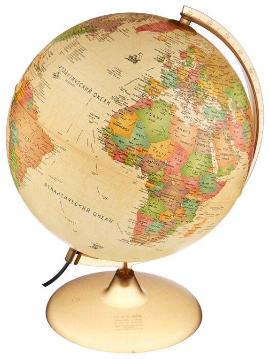 Глобус политический Nova Rico Античный Discovery двойная карта 300 мм бежевый