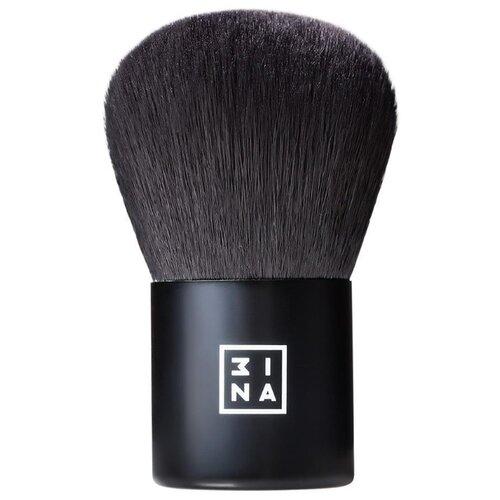 Кисть 3INA The Kabuki Brush черный спонж 3ina the blender sponge черный