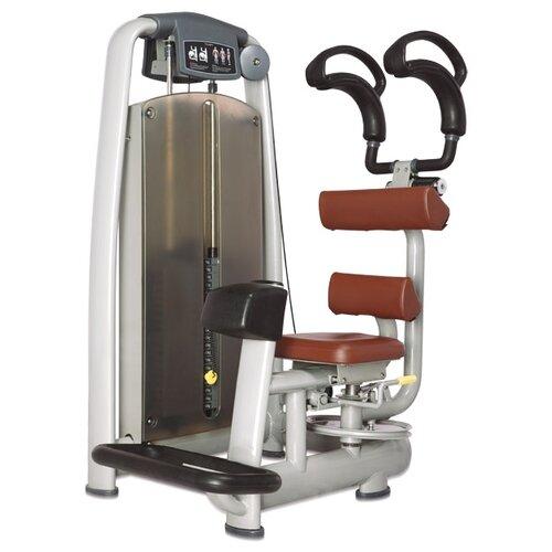 Тренажер со встроенными весами Bronze Gym A9-011 коричневый/серый вертикальная кросс тяга bronze gym a9 012b