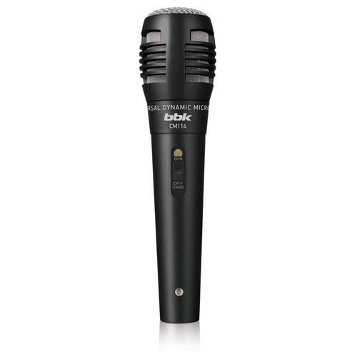 Микрофон BBK CM114, черный