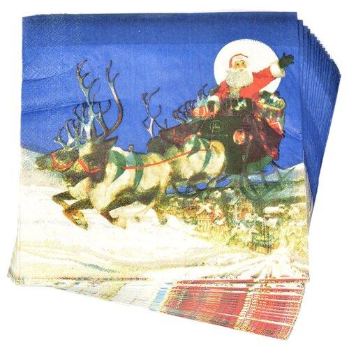 Набор салфеток для декупажа Арт Узор TBY-170, 33х33 см