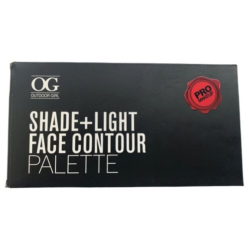 Outdoor girl Палетка для контурирования и скульптурирования Shade+Light face contour palette