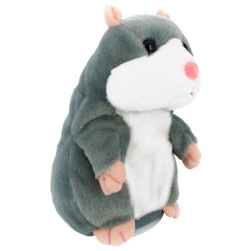 Мягкая игрушка Dolemikki Хомячок серый 18 см