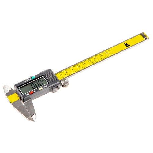 Цифровой штангенциркуль КАЛИБРОН 70465 150 мм, 0.01 мм цифровой штангенциркуль norgau ip67 200мм 0 01мм 040051020