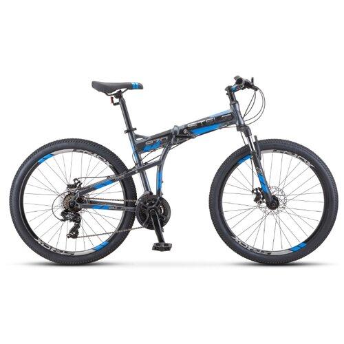 Горный (MTB) велосипед STELS Pilot 970 MD 26 V022 (2020) антрацитовый 17.5