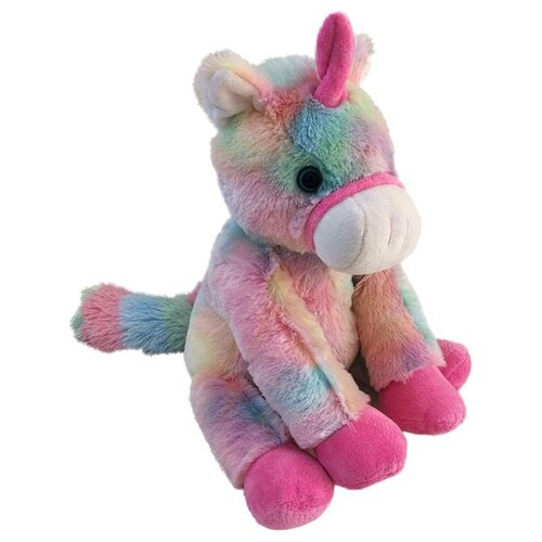 цена Мягкая игрушка Fluffy Family Единорог Радуга 24 см онлайн в 2017 году