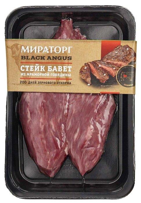 Стейк Бавет Мираторг из мраморной говядины, 310г