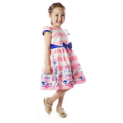 Купить Платье Khmeleva размер 116, розовый, Платья и сарафаны