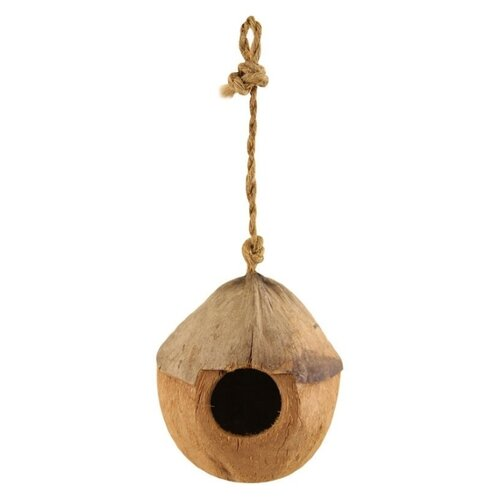 Домик-гнездо Triol CN01 52031001 10х10х10см коричневый