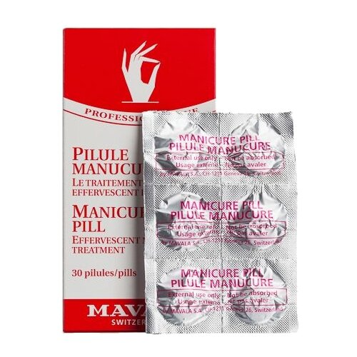 Таблетки Mavala для маникюрной ванночки Manicure Pill 30 мл