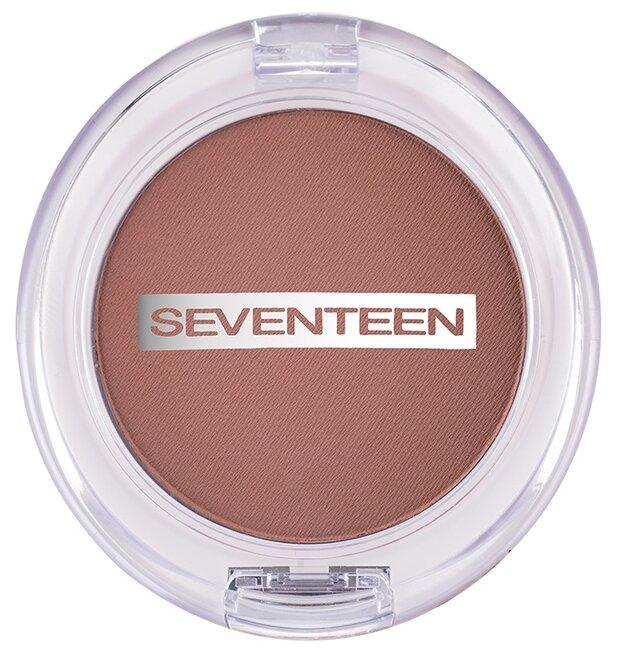 Seventeen Румяна компактные Natural Matte Silky Blusher