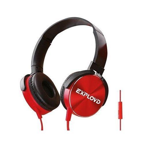 Наушники EXPLOYD EX-HP-916, черный/красный